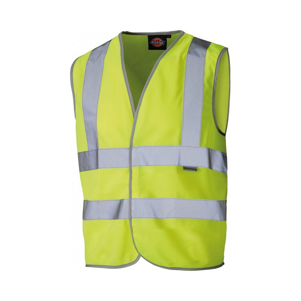 Gilet jaune de sécurité Enfant Dickies Haute Visibilité - Jaune fluo