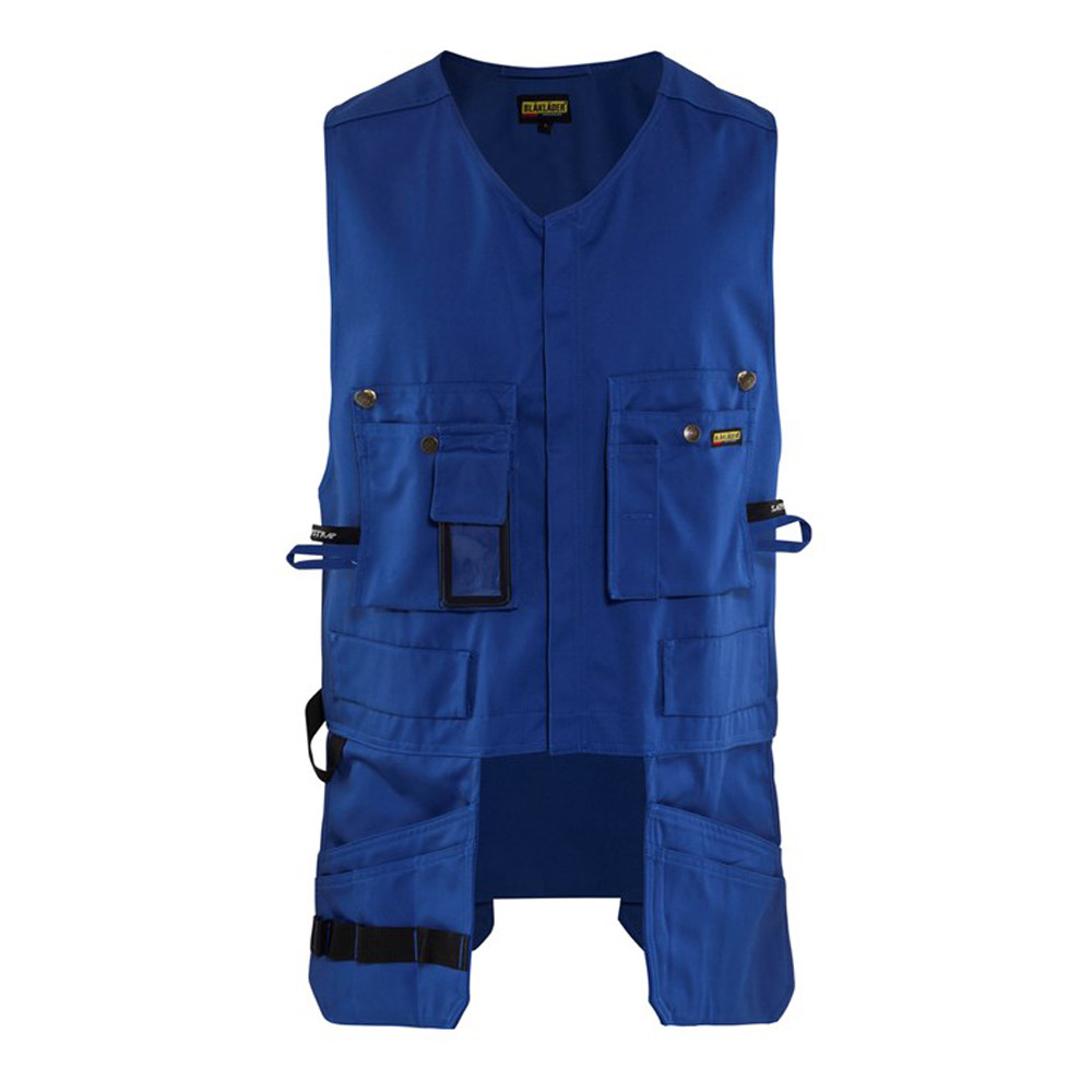 Gilet Porte-Outils Blaklader Polycoton - Bleu Roi