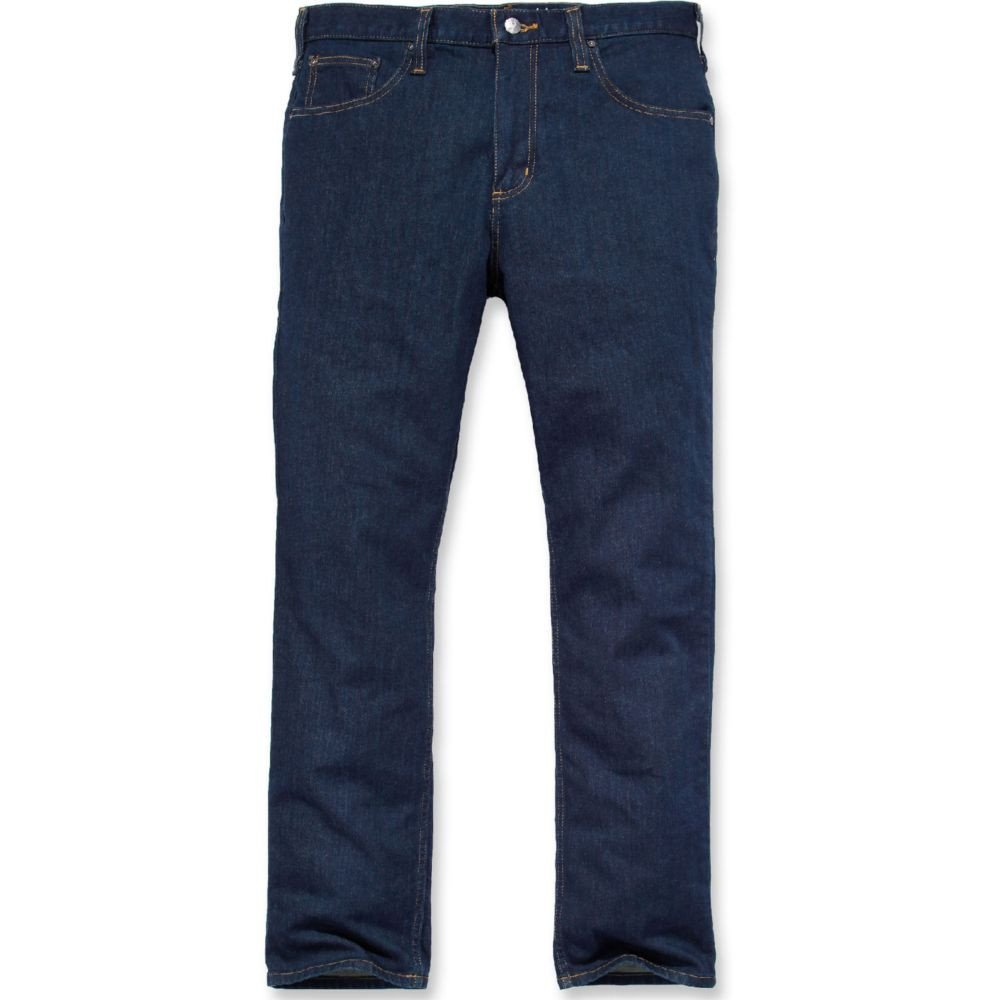 Jeans de travail stretch Carhartt RUGGED FLEX STRAIGHT - Bleu