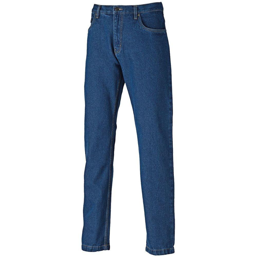 Jean de travail Dickies délavé - Bleu