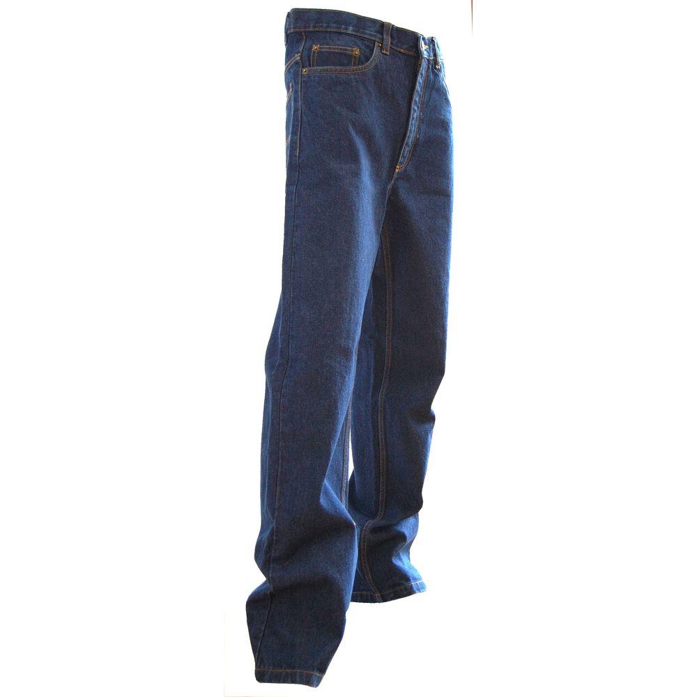 Jeans extensible 5 poches western Memphis LMA - Bleu