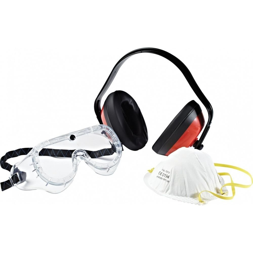 d8c778c0569a9d Kit de protection Masque + casque + lunettes Dickies