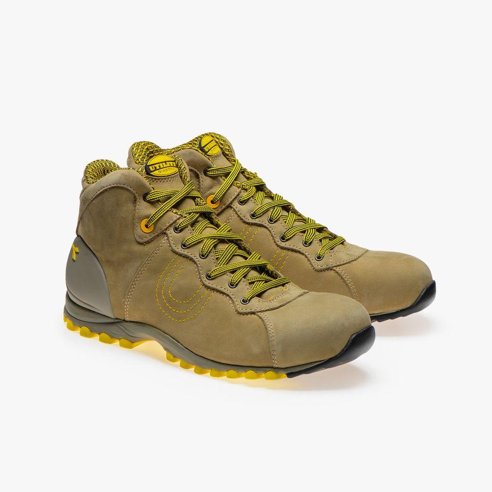 Chaussures de sécurité hautes Diadora BEAT HIGH S3 HRO SRC - Marron