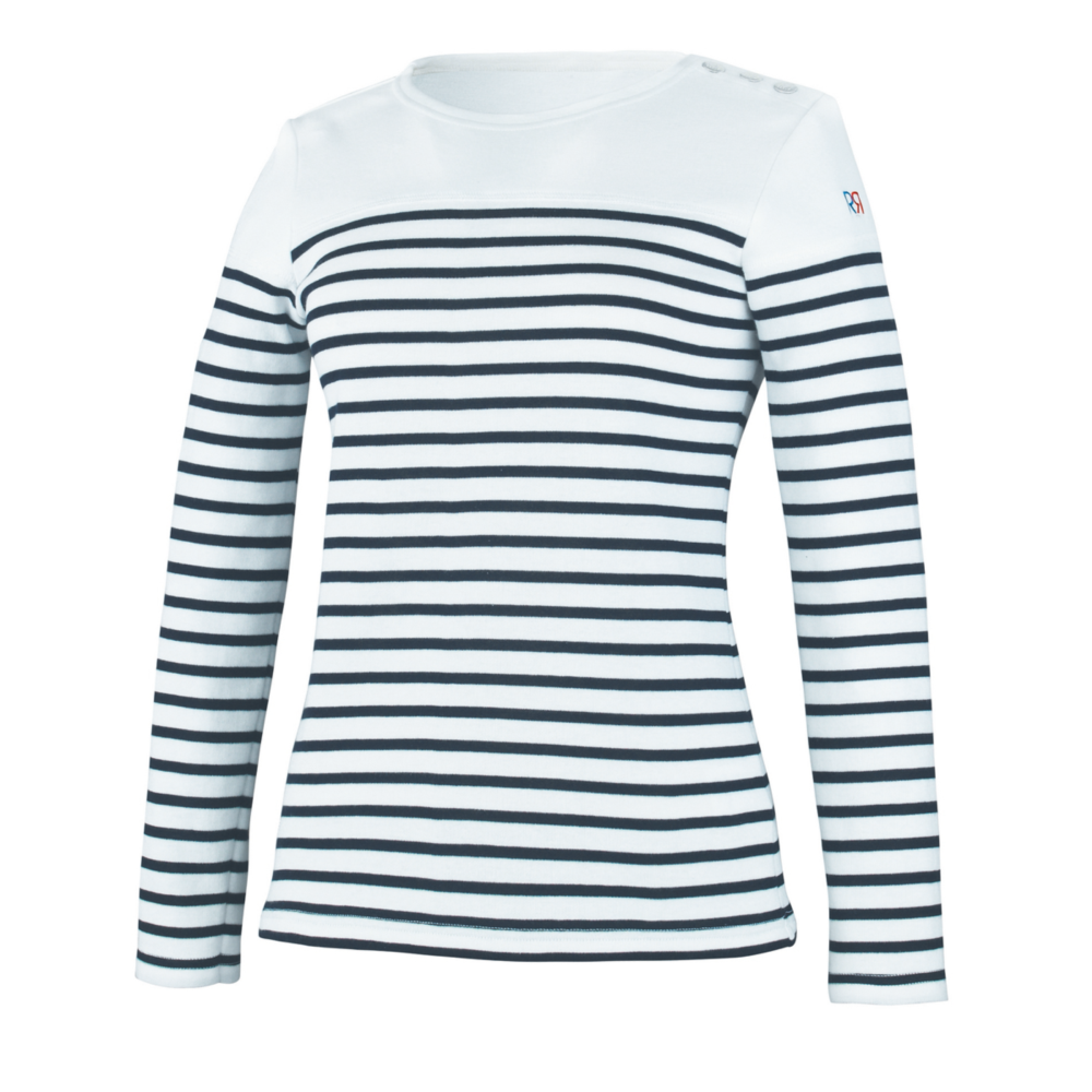 Marinière Femme Robur ANCRE - Blanc / Navy