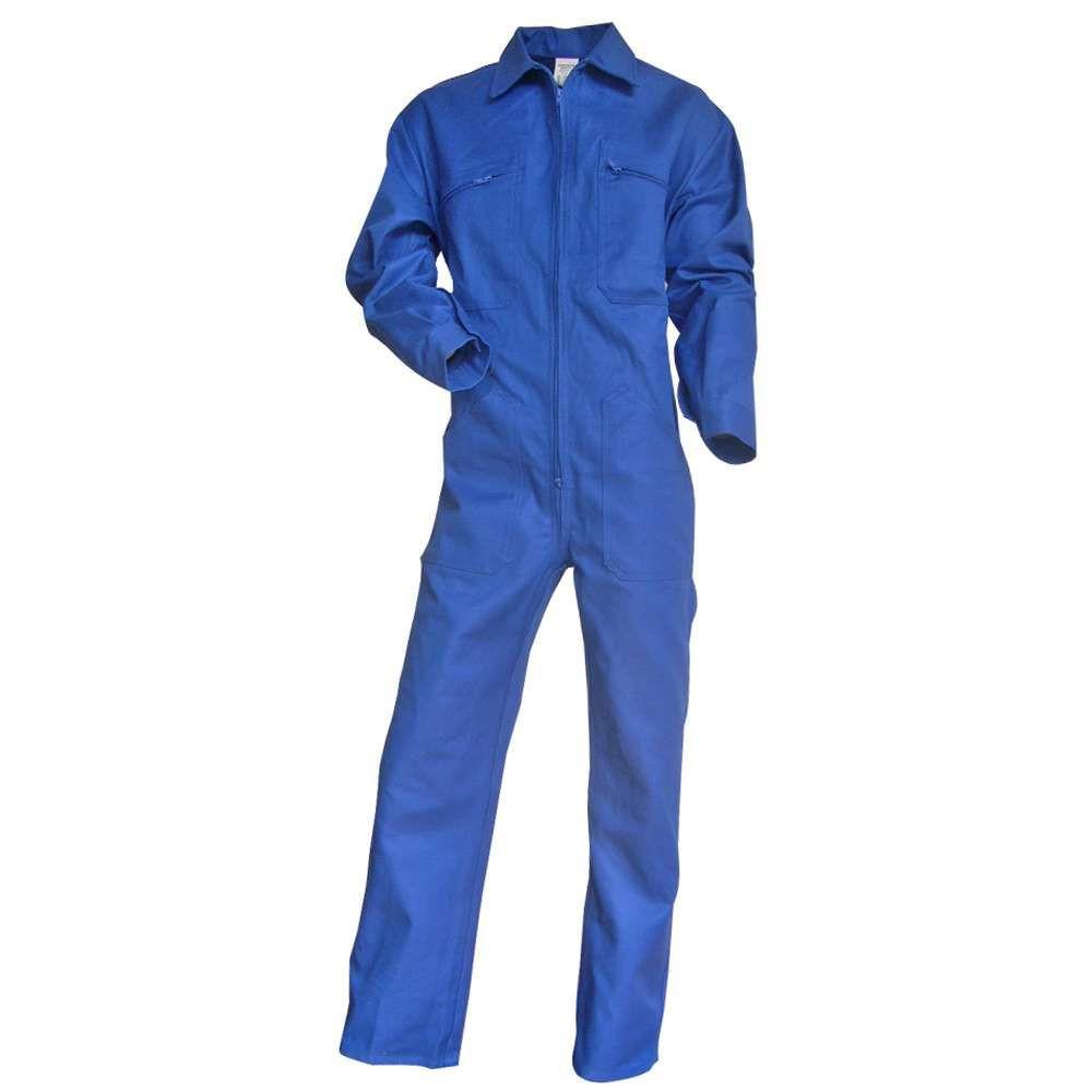 Combinaison de travail 100% coton bleu bugatti Taloche LMA - Bleu