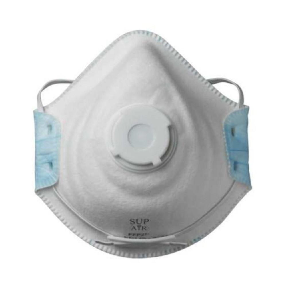 Masque respiratoire coque avec valve Sup Air FFP2 D SL (boîte de 10 masques) 4a42388d7948