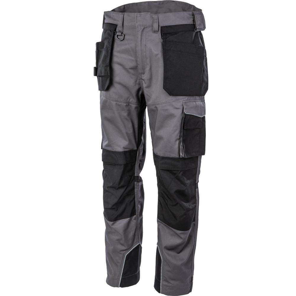 Pantalon de travail multi poches Albatros EXPERT 360° - Noir / Gris