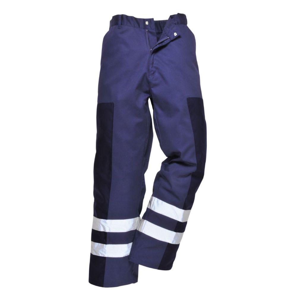Pantalon Portwest Ballistic bandes réflechissantes - Marine