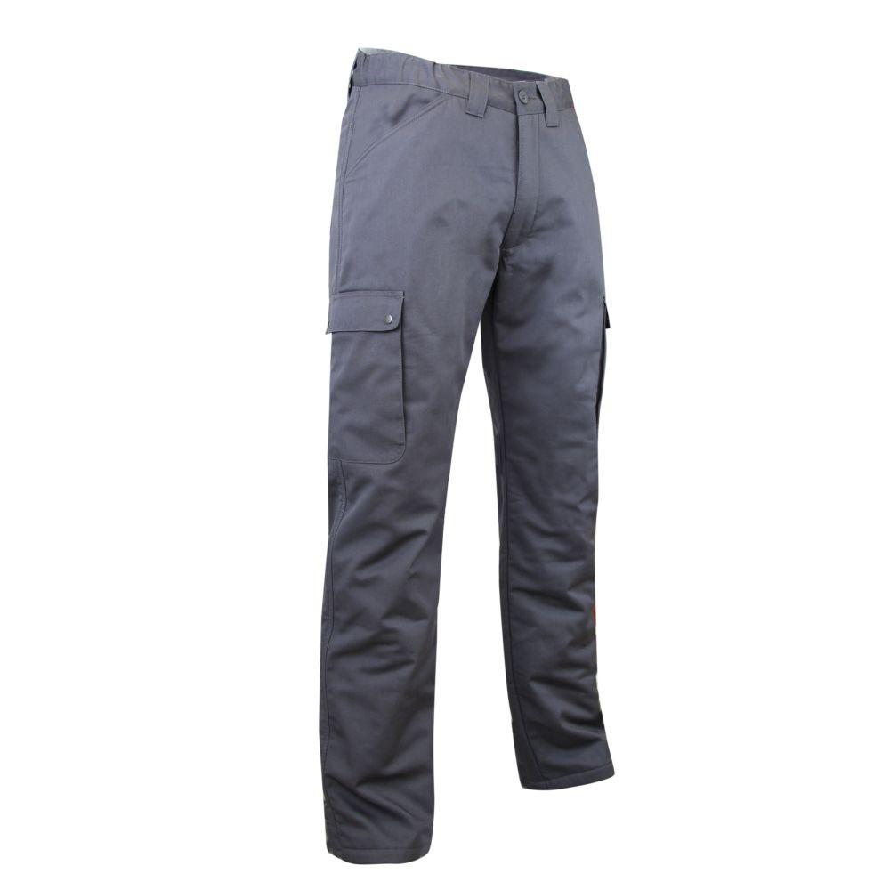 Pantalon cargo polaire et imperméable OURS LMA - Gris foncé