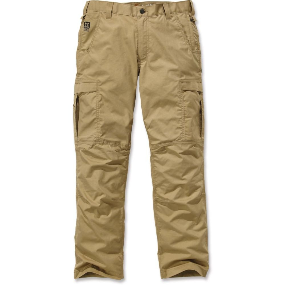 Pantalon de travail Carhartt Cargo Force Extrêmes - Beige