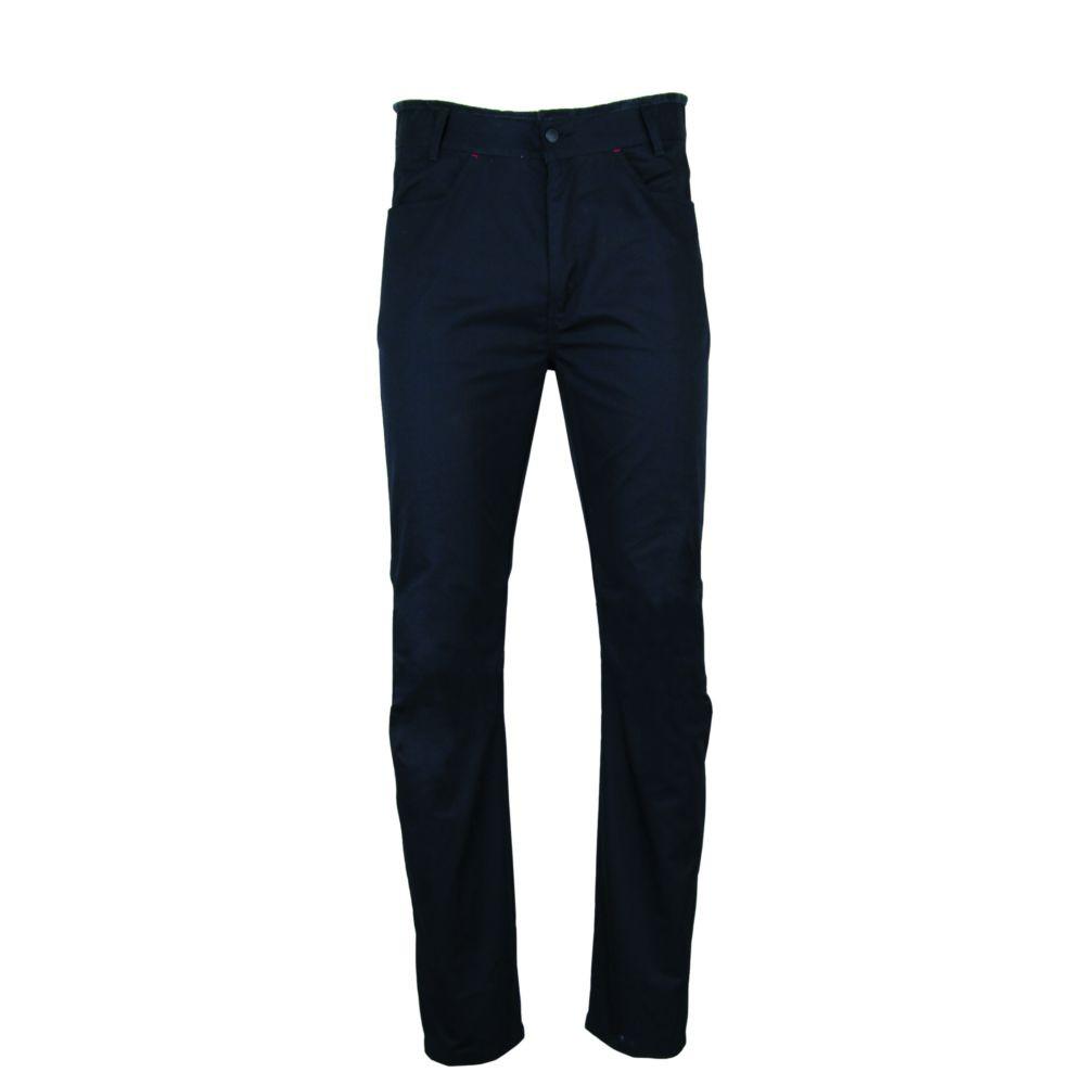 Pantalon de cuisine à ceinture éponge LMA GRILL - Noir