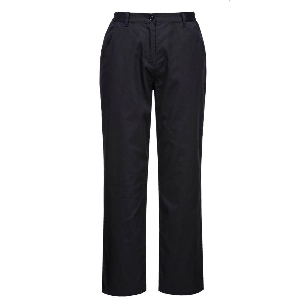 Pantalon de cuisine Femme Portwest Rachel - Noir