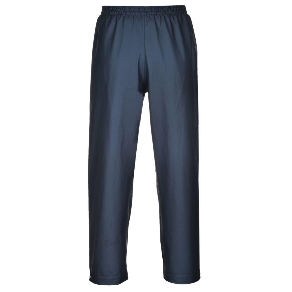 Pantalon de pluie étanche Portwest classique Sealtex - Bleu Marine
