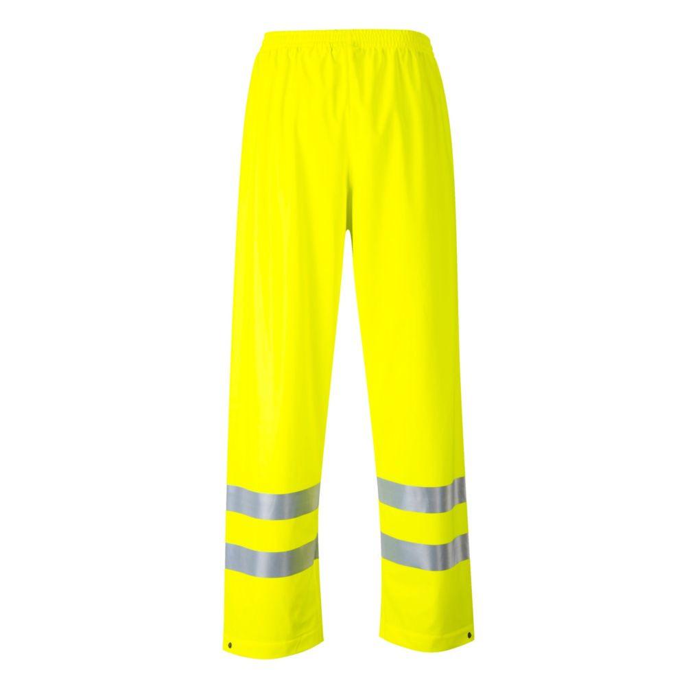 Pantalon de pluie haute visibilité Multirisques Portwest Sealtex - Jaune