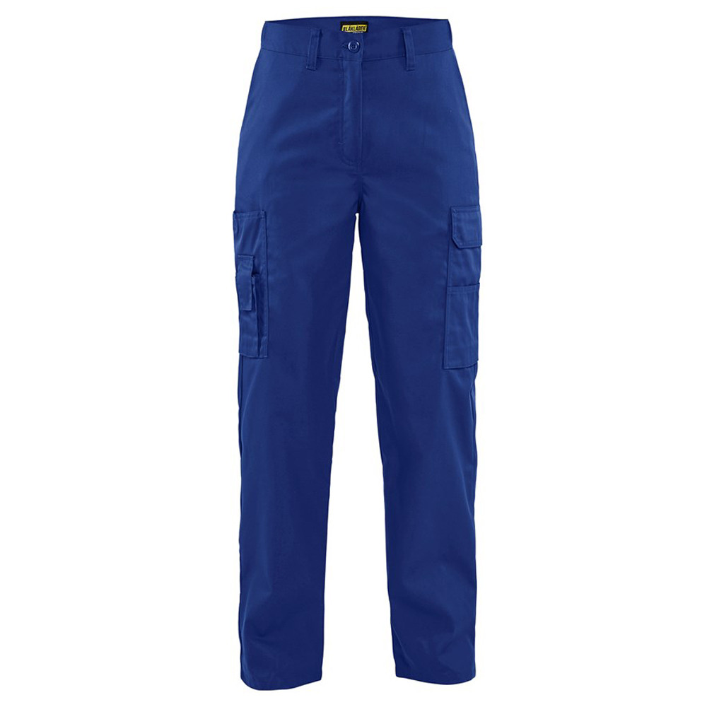 Pantalon de travail service femme Blaklader braguette plastique - Bleu Roi