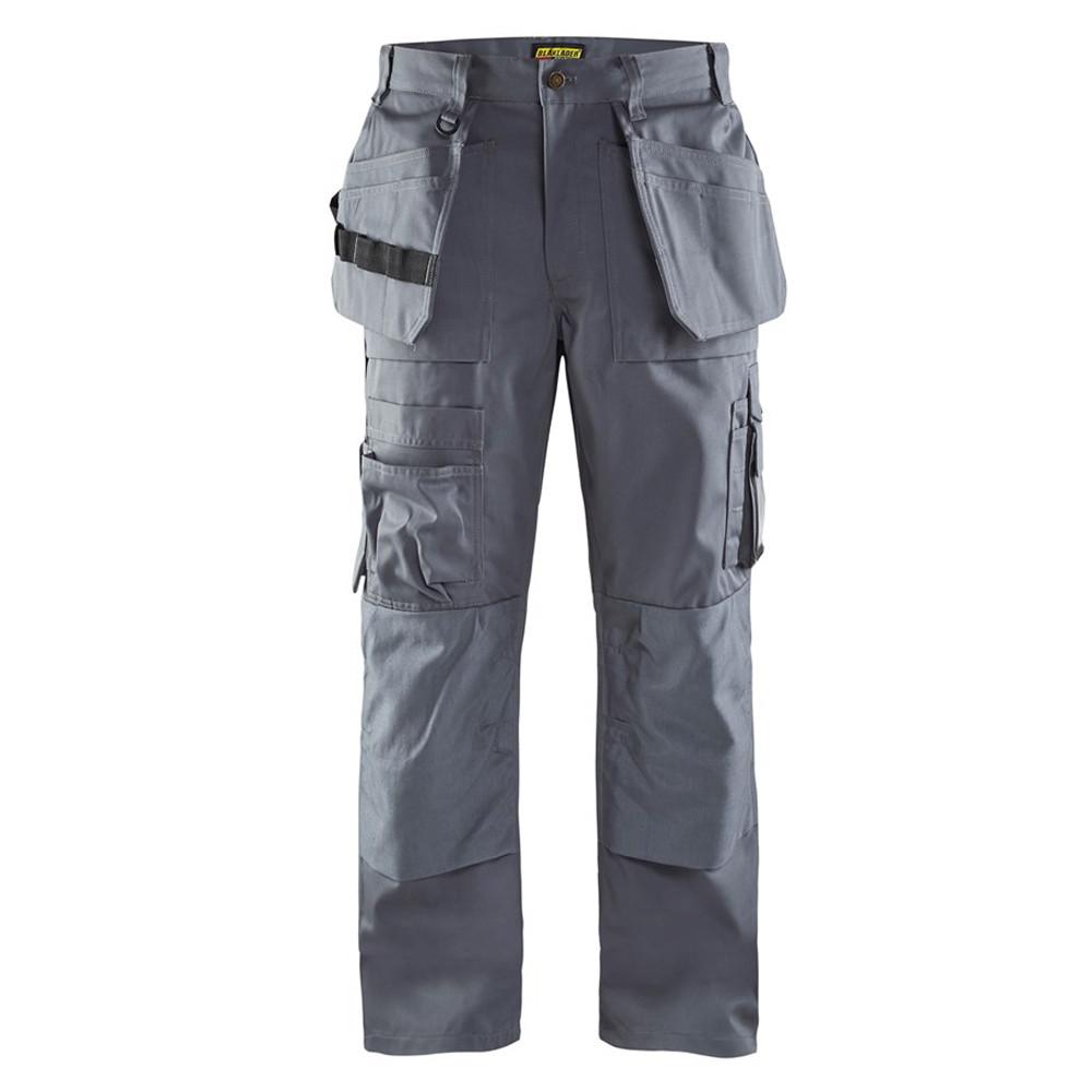 Pantalon de travail Blaklader artisan + polycoton - Gris