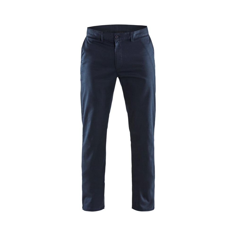 Pantalon de travail Blaklader CHINO STRETCH 2D - Marine Foncé