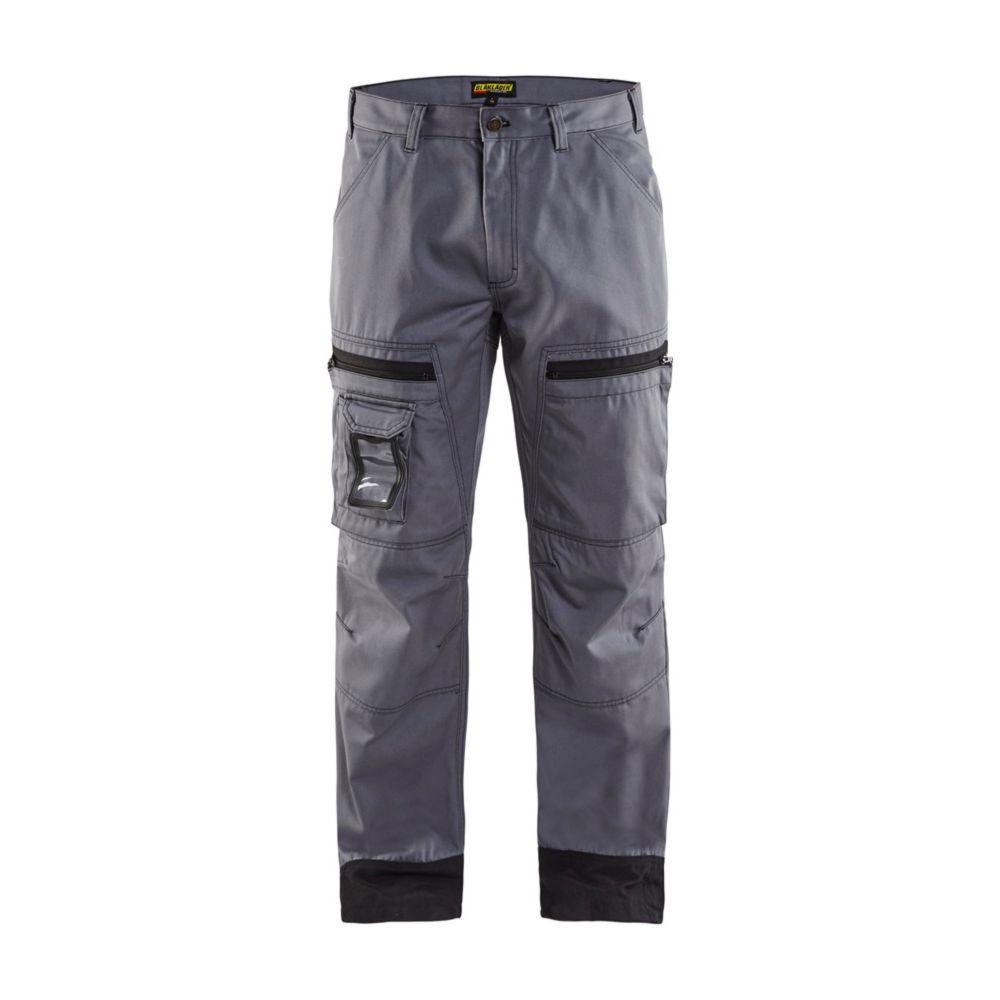 Pantalon de travail chauffeur Blaklader Polycoton - Gris Noir