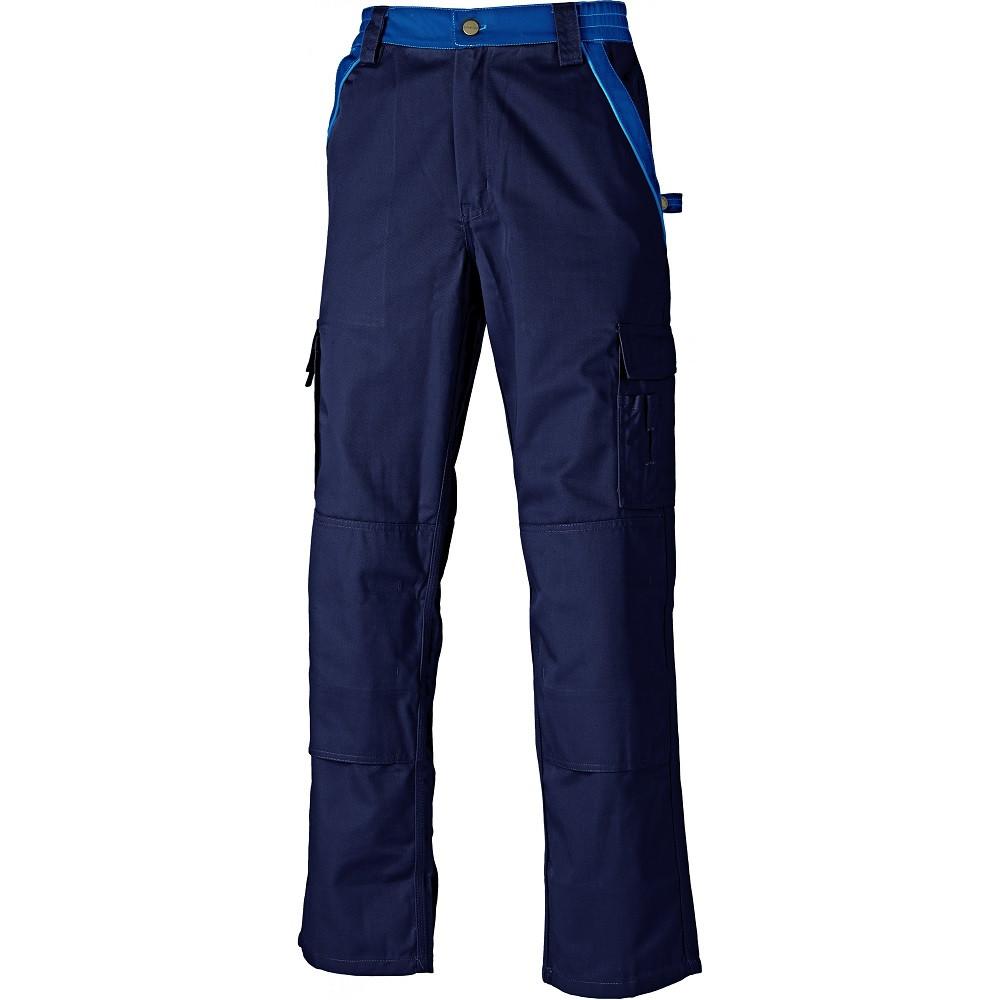 Pantalon de travail Dickies Industry 300 bicolore - Bleu marine / bleu royal