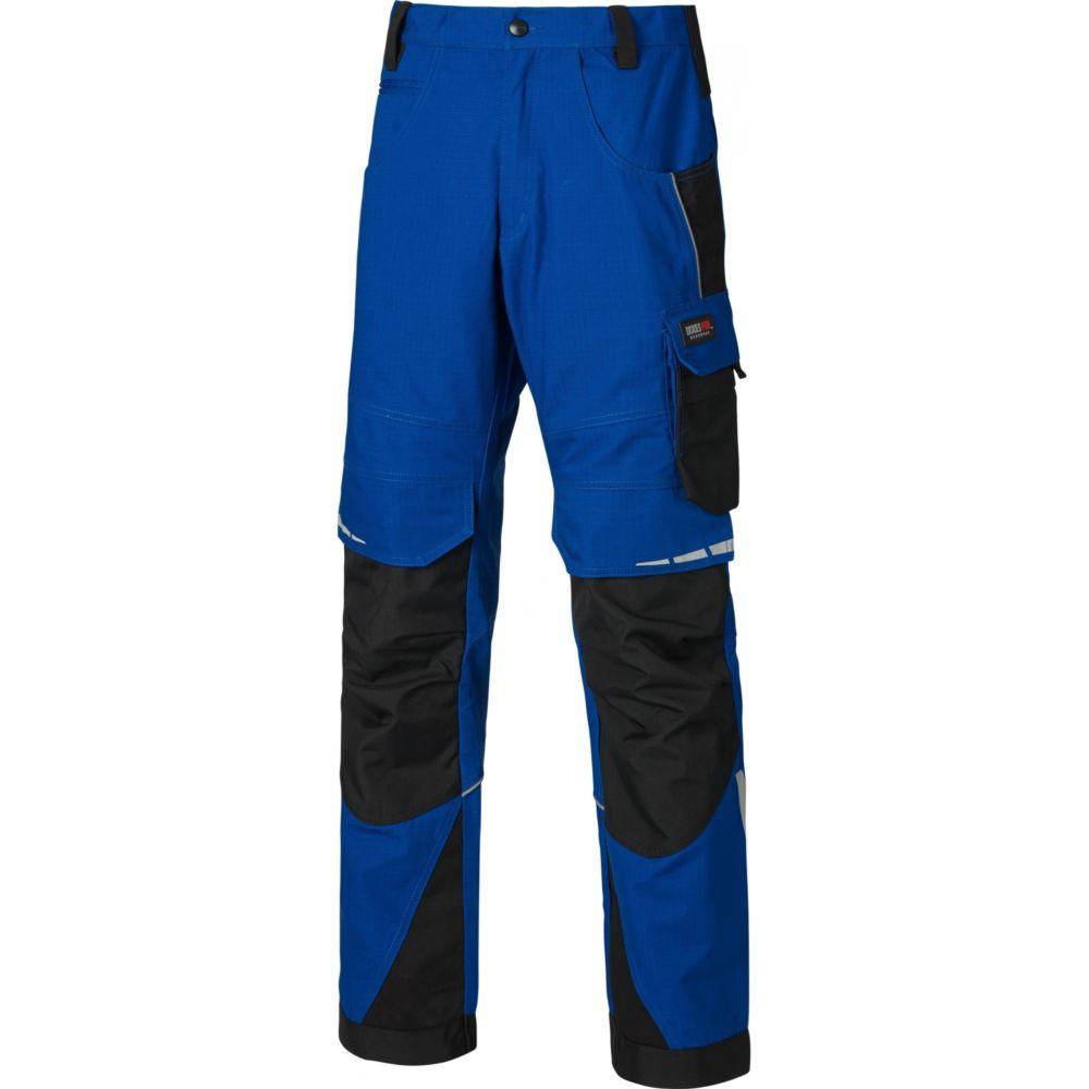 Pantalon de travail Dickies Pro Trousers - Bleu Royal / Noir