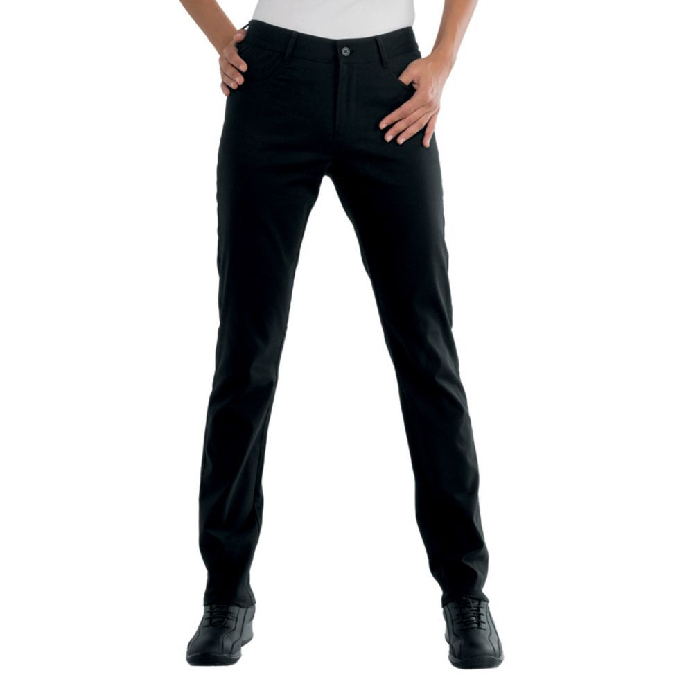 Pantalon de travail femme noir Isacco Pantalone Margarita - Noir
