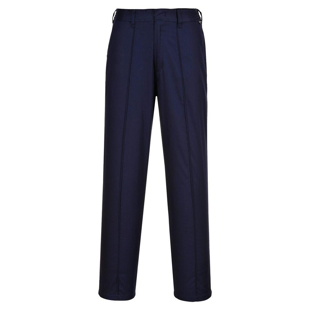 Pantalon de travail Femme Portwest Élastiqué - Marine