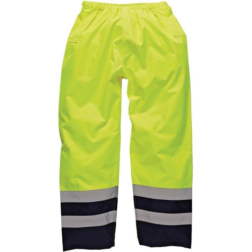 Pantalon de travail haute  visibilité bicolore Dickies - Jaune