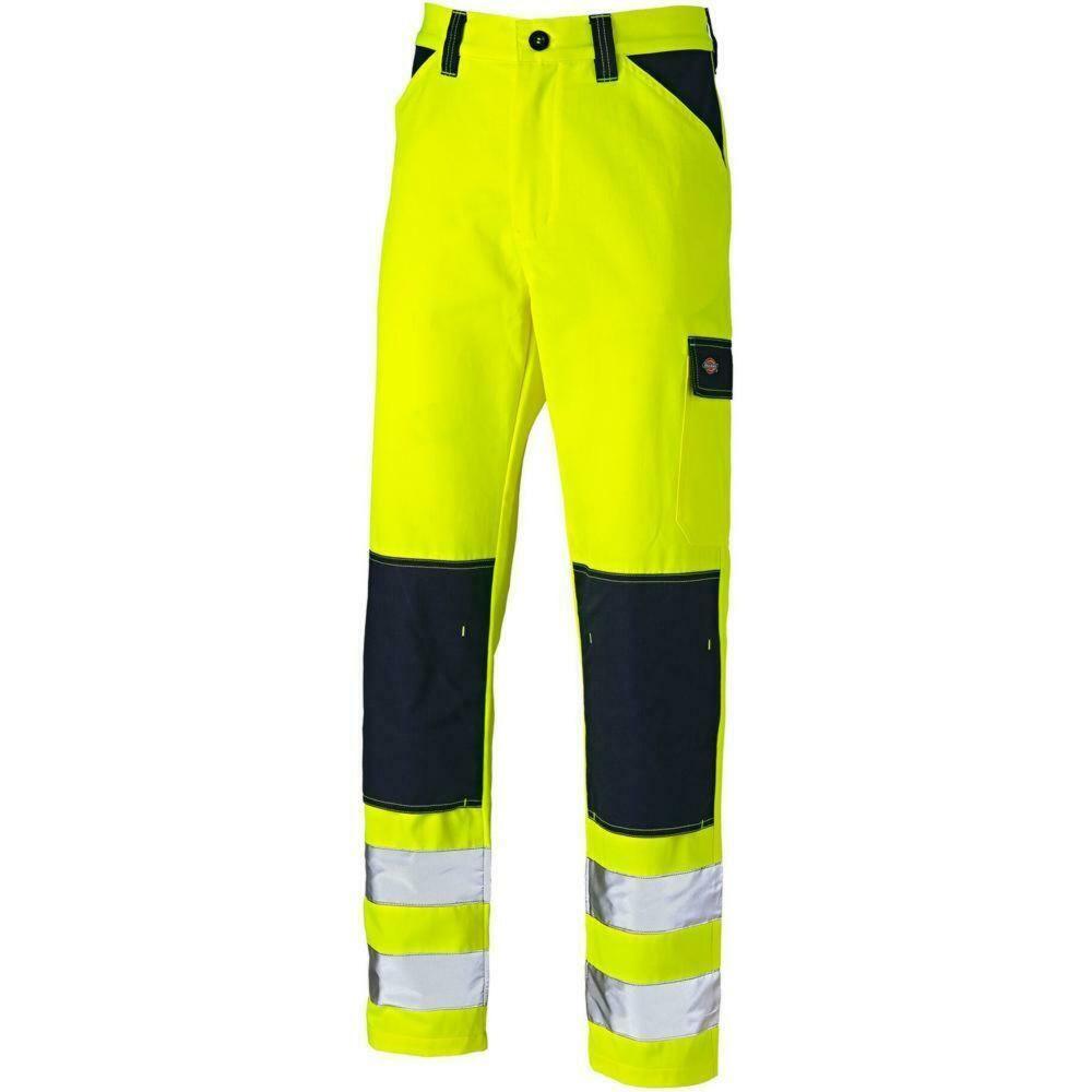 Pantalon de travail haute visibilité bicolore Dickies EVERYDAY - Jaune / Bleu Marine