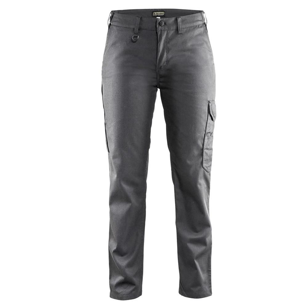 Pantalon de travail femme Blaklader Industrie - Gris / Noir