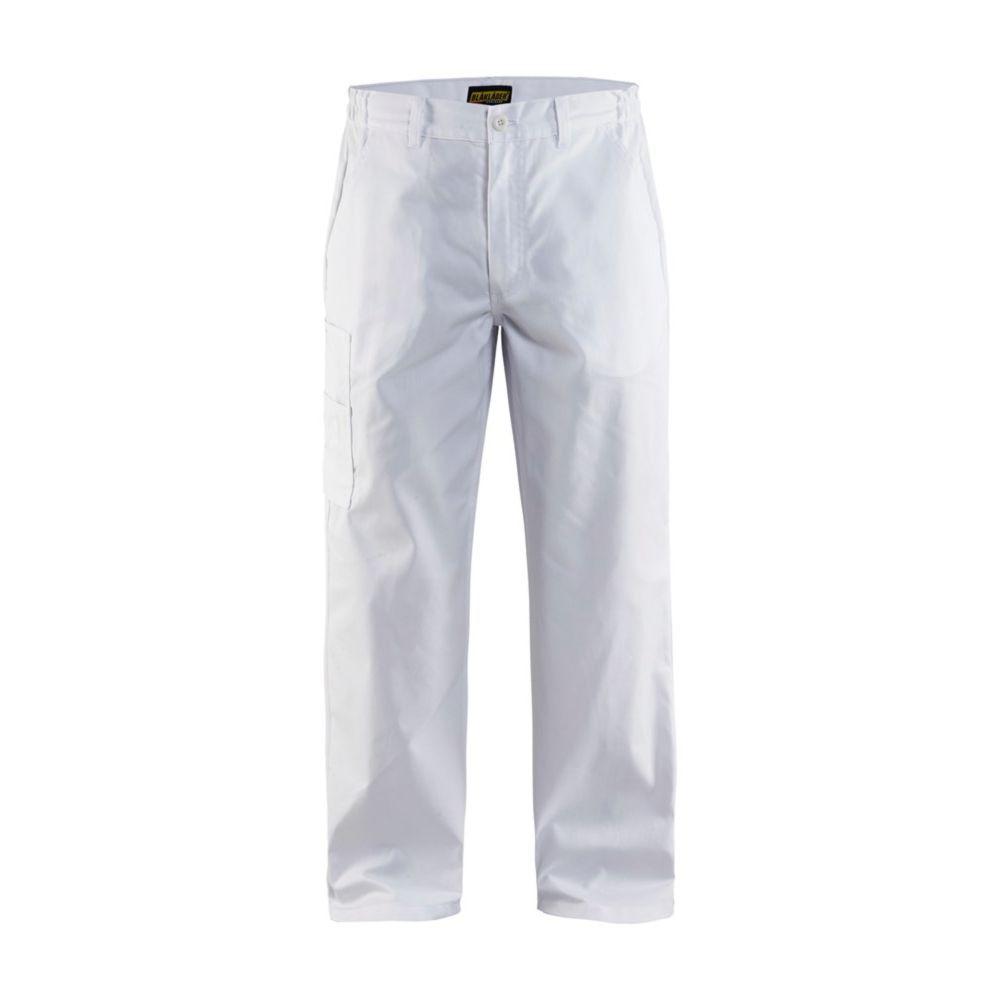 Pantalon de travail Blaklader industrie polycoton - Blanc