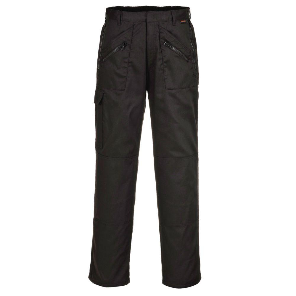 Pantalon de travail matelassé Portwest Action - Noir