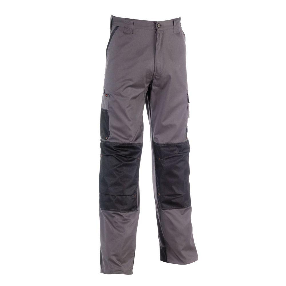 Pantalon de travail multipoches Mars Herock - Gris Foncé