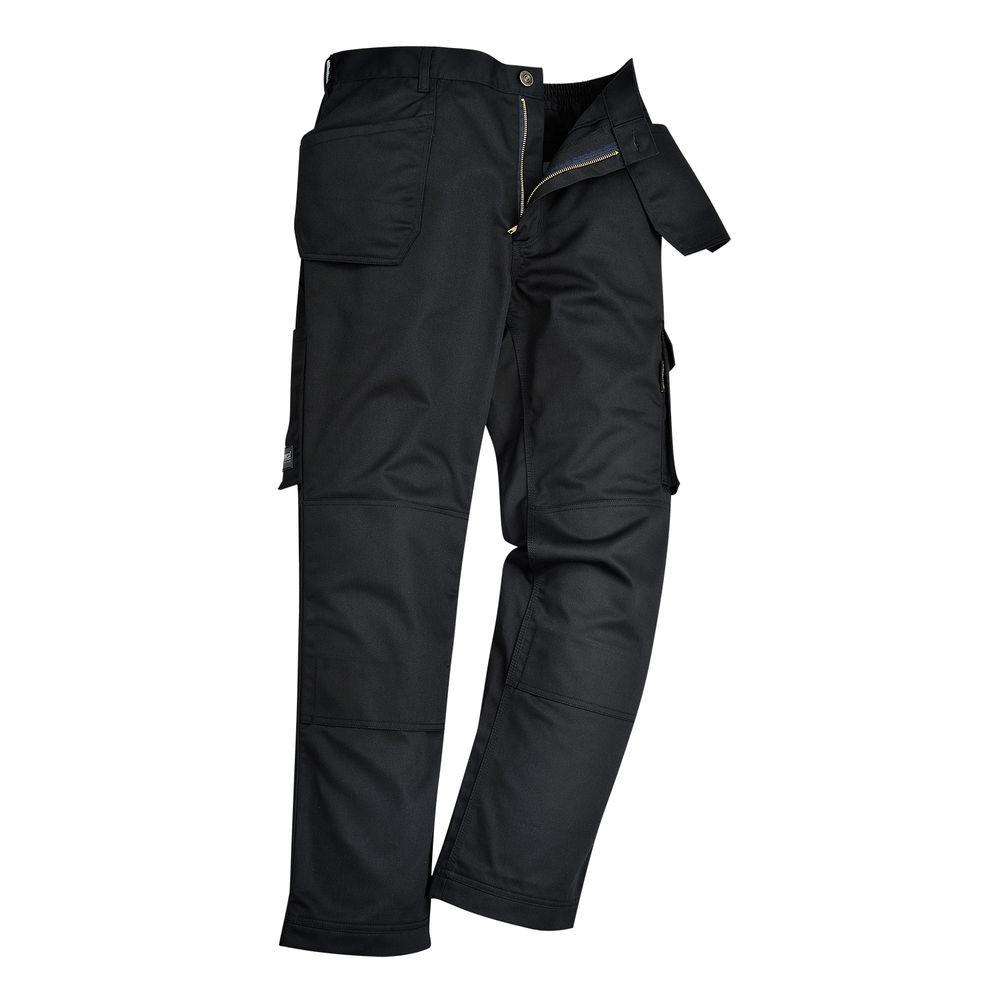 Pantalon de travail Multipoches Portwest Slate - Noir