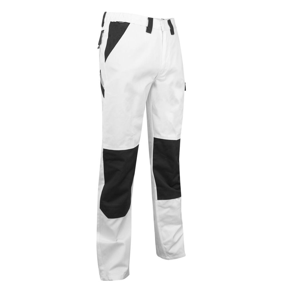 Pantalon de travail peintre CREPI LMA - Blanc droite