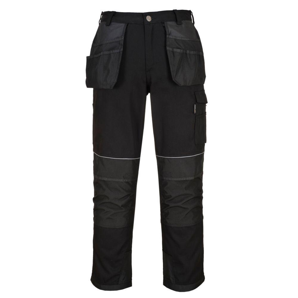 Pantalon de travail multi-poche Portwest Tungstène - Noir
