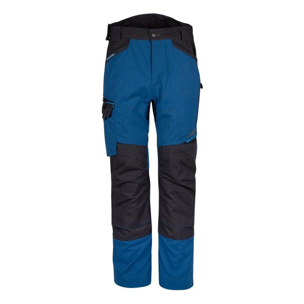 Pantalon de travail stretch multipoches Portwest WX3 Service - Bleu