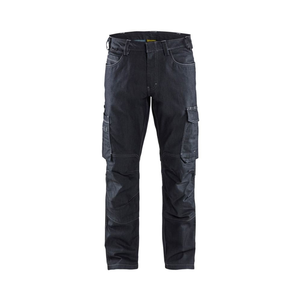 Pantalon de travail services Blaklader DENIM STRETCH 2D - Marine