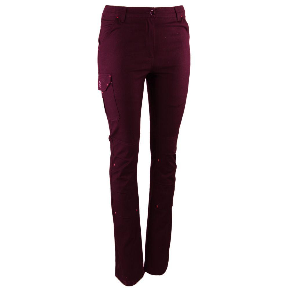 Pantalon de travail stretch femme LMA TRAMPOLINE - BORDEAUX