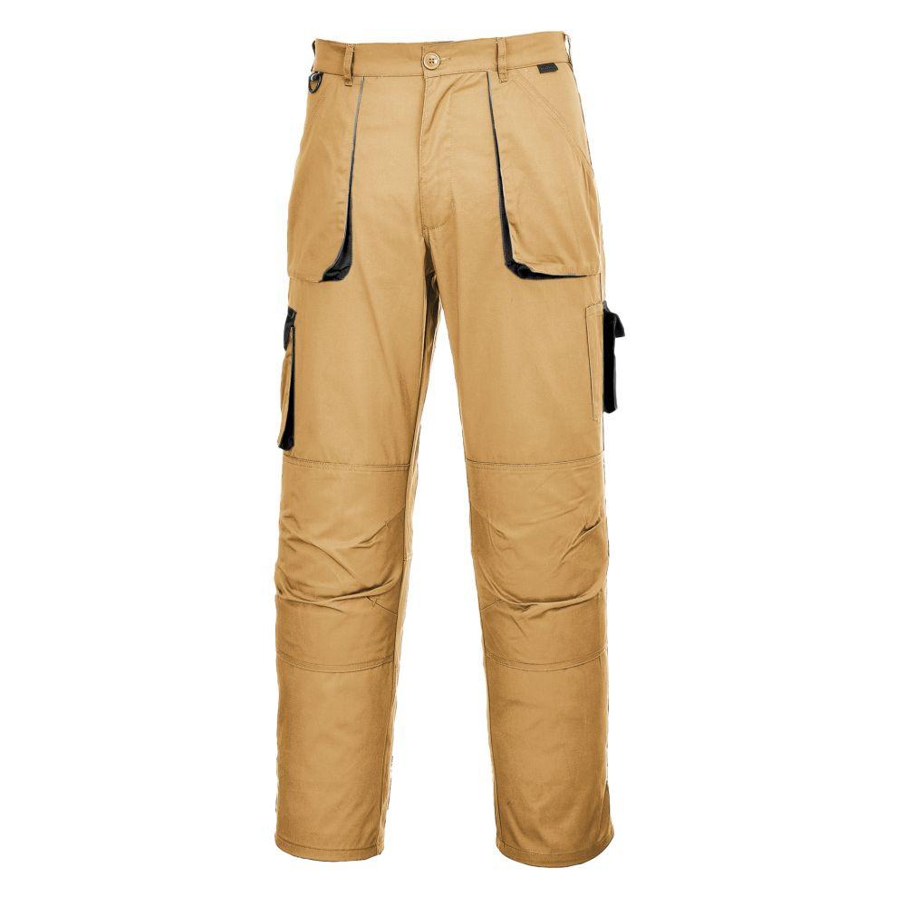 Pantalon de travail Texo Contrast Portwest - Kaki