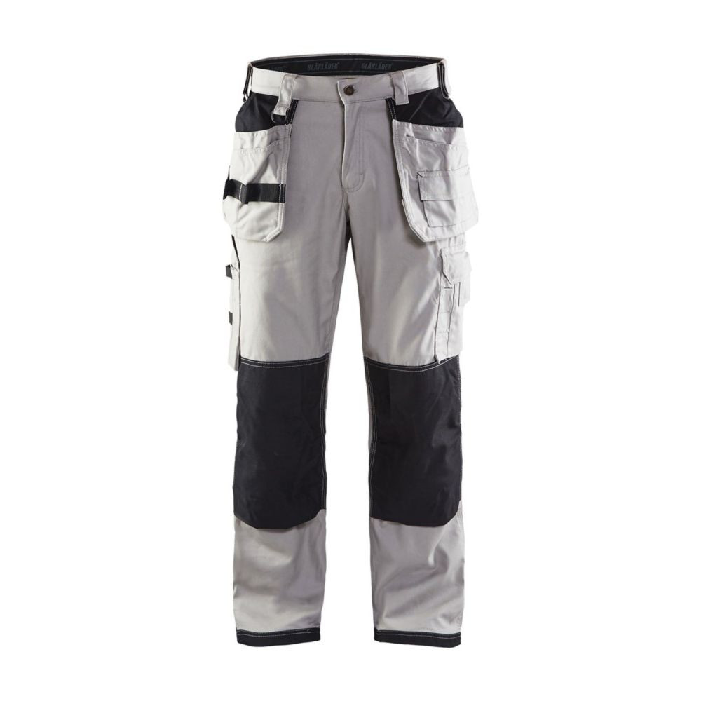 Pantalon de travail artisan Blaklader X1900 cordura nyco - Gris Clair / Noir