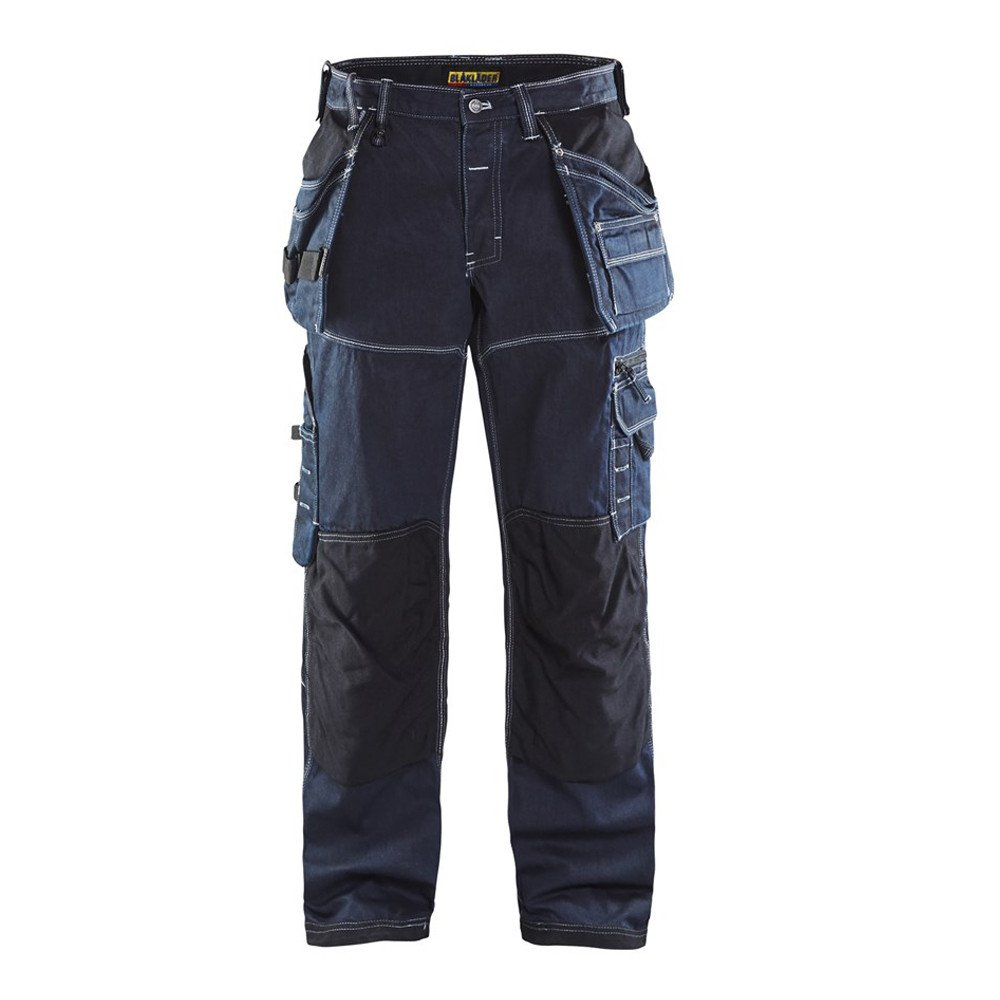 Pantalon de travail Blaklader X1900 artisan cordura denim - Marine / noir
