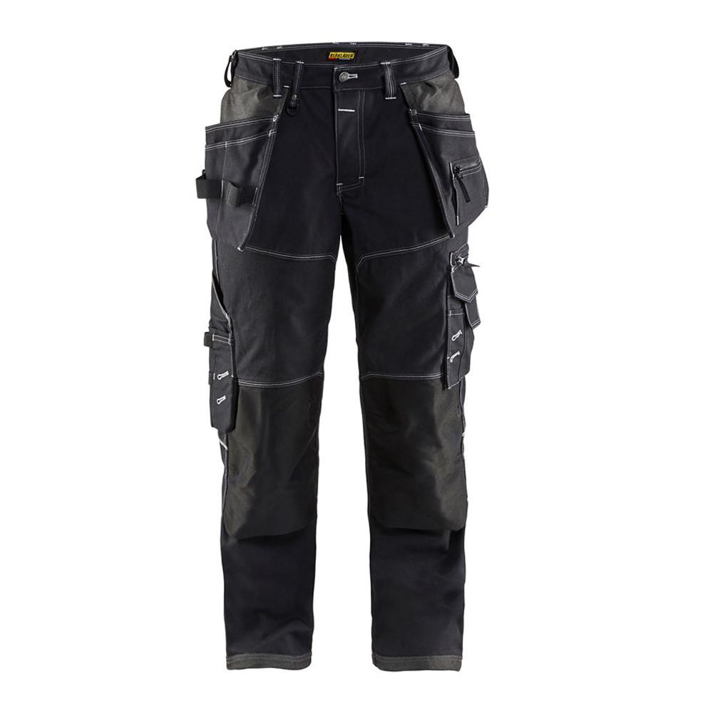 Pantalon de travail Blaklader X1900 artisan cordura nyco - Noir
