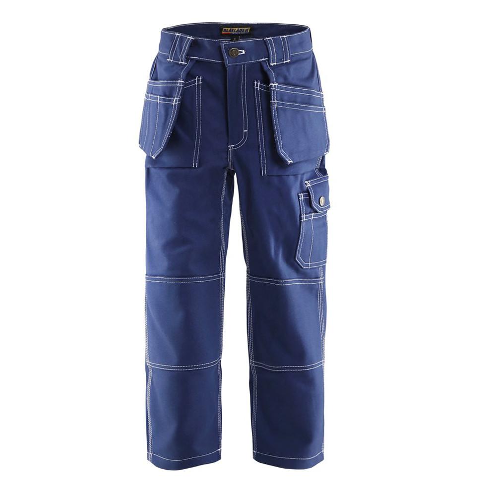 Pantalon enfant Blaklader 100% coton - Marine