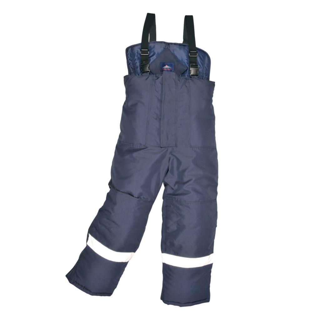Pantalon frigoriste Portwest Coldstore - Marine