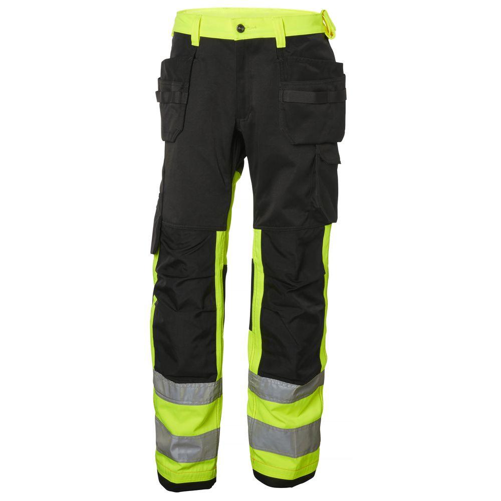 Pantalon haute visibilité ALNA CONS CL 1 Helly Hansen - Jaune / Charbon