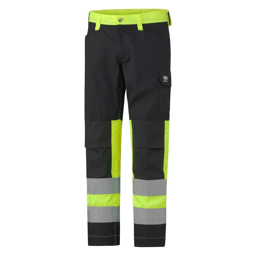 Pantalon haute visibilité Helly Hansen ALTA CLASS 1 - Jaune / Charbon