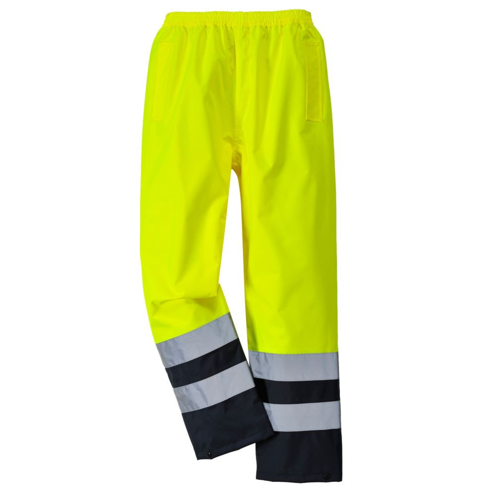 Pantalon haute visibilité Etanche Portwest bicolore - Jaune / Noir