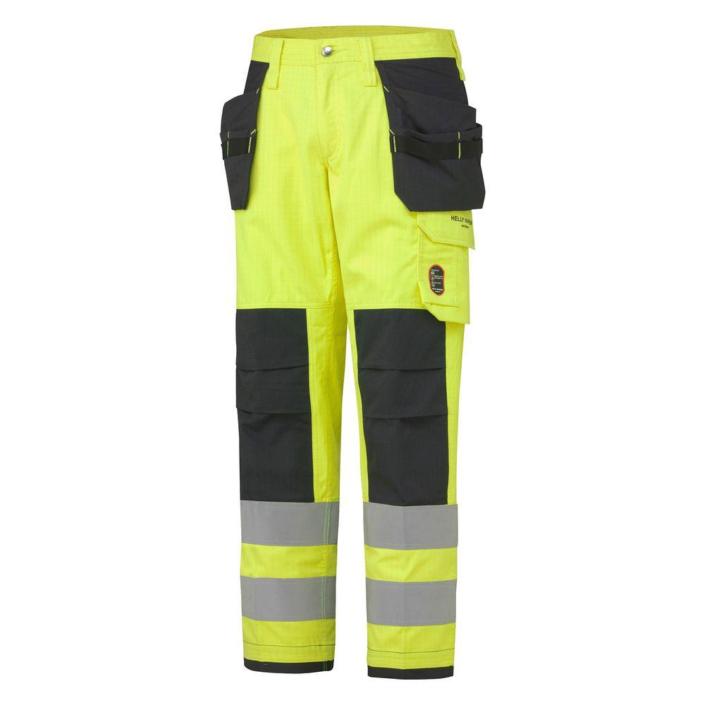 Pantalon haute visibilité ignifugé ABERDEEN CONSTRUCTION Helly Hansen - Jaune