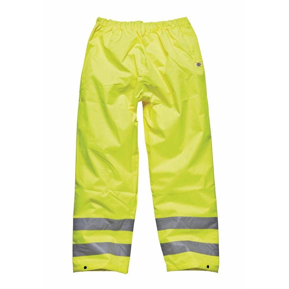 Pantalon haute visibilité imperméable pour autoroute Dickies - Jaune
