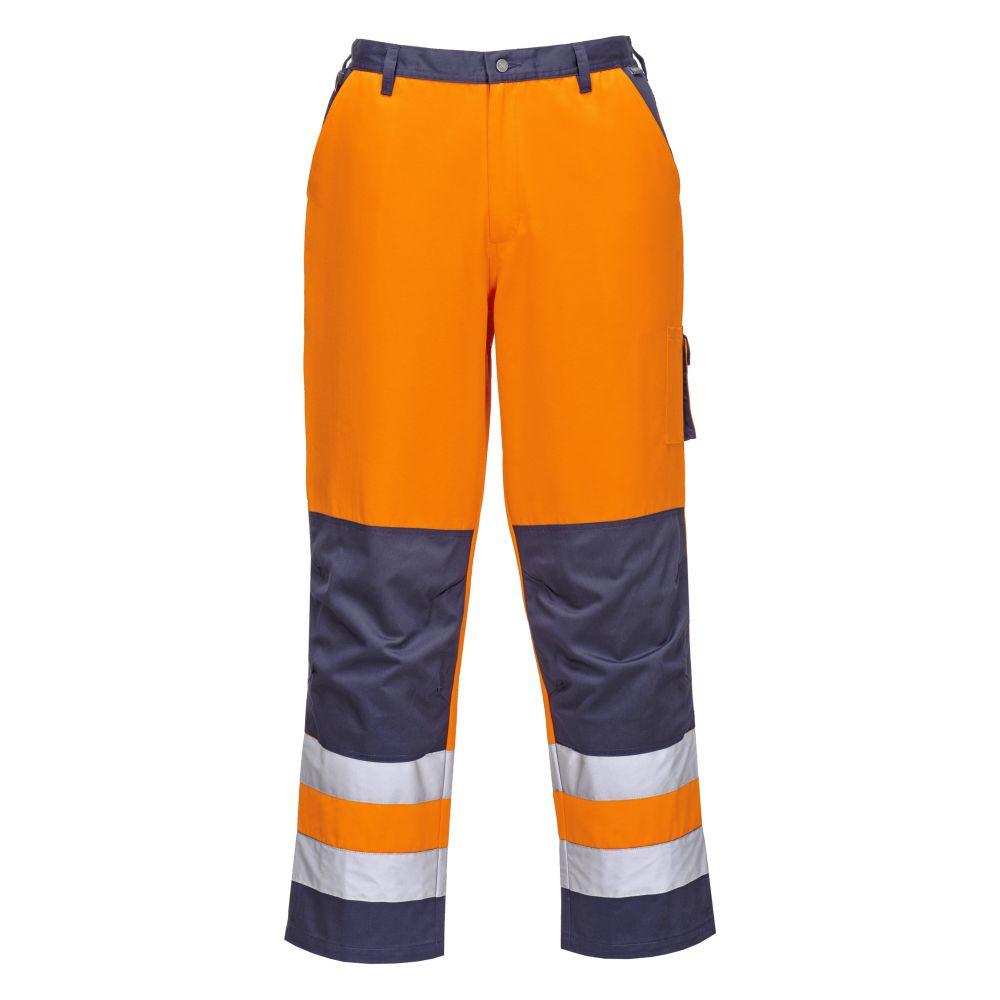 dd20420e159 Pantalon Haute Visibilité Lyon Portwest - Orange Pantalon Haute Visibilité  Lyon Portwest - Orange ...